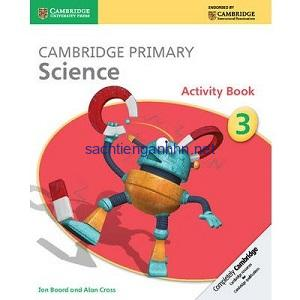 Cambridge Primary Science 3 Activity Book