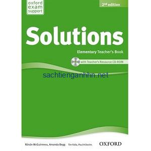 Solutions Elementary Teacher's Book 2nd