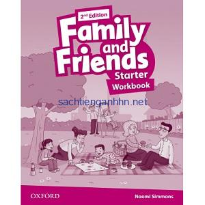 Family and Friends Starter Workbook 2nd Edition