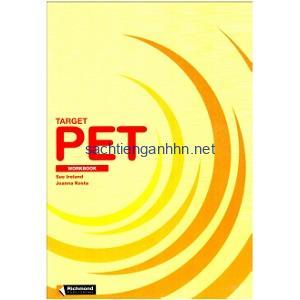 Target PET Workbook with keys
