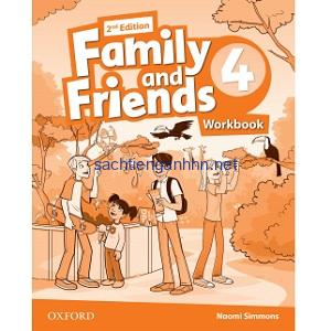 Family and Friends 4 Workbook 2nd Edition