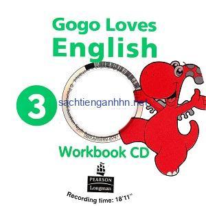 Gogo Loves English 3 Workbook Audio CD