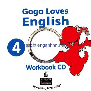 Gogo Loves English 4 Workbook Audio CD