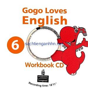 Gogo Loves English 6 Workbook Audio CD