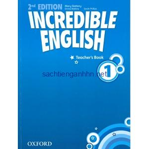 Incredible English 1 Teacher Book 2nd Edition