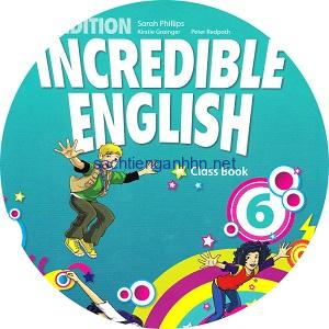 Incredible English 6 2ndEd Audio Class CD4 CYL Movers practice – Tests