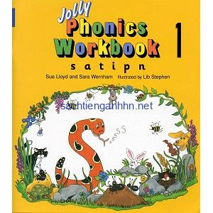 Jolly Phonics Workbook 1 [s a t i p n]