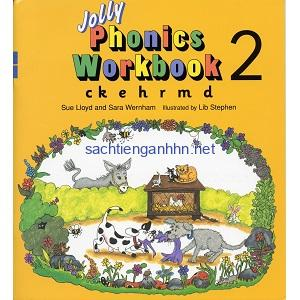 Jolly Phonics Workbook 2 [c k e h r m d]