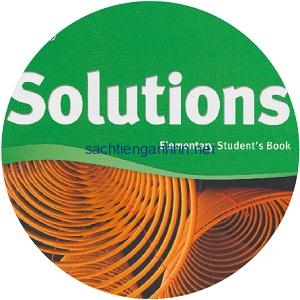 Solutions Elementary 2nd Class Audio CD1