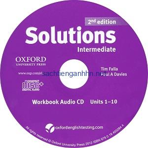 Solutions Intermediate  2nd Workbook Audio CD