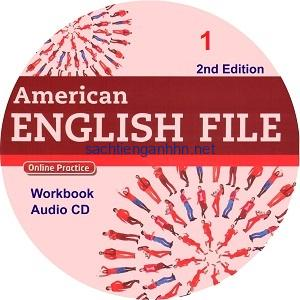 American English File 1 2nd Edition Workbook Audio CD1