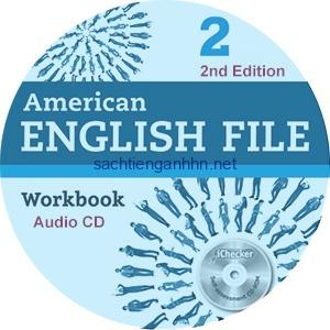 American English File 2 2nd Edition Workbook Audio CD