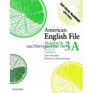 American English File 3A Student Book – Workbook