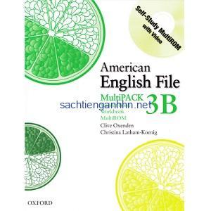 American English File 3B Student Book – Workbook