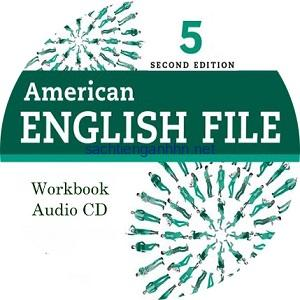 American English File 5 2nd Edition Workbook Audio CD