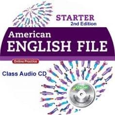 American English File Starter 2nd Edition Class Audio CD