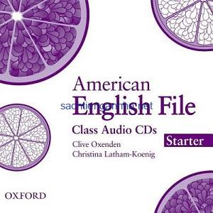 American English File Starter Class Audio CD1