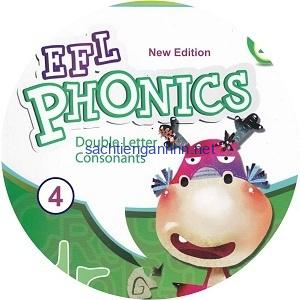 New EFL Phonics 4 Double Letter Consonants Audio CD