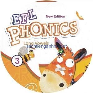 New EFL Phonics 3 Long Vowels Audio CD