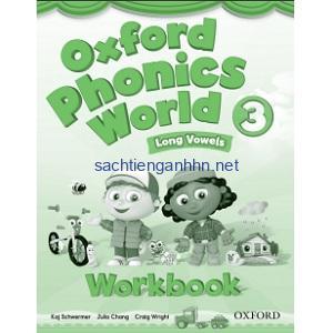 Oxford Phonics World 3 Long Vowels Workbook