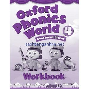 Oxford Phonics World 4 Consonant Blends Workbook