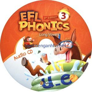 EFL Phonics 3 Long Vowels 3rd Audio CD