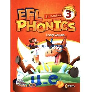 EFL Phonics 3 Long Vowels Student Book Workbook 3rd Edition