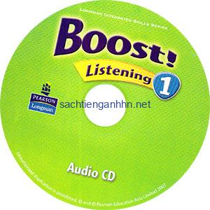 Boost! Listening 1 Audio CD