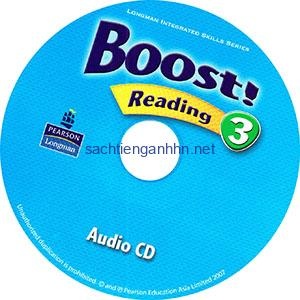 Boost! Reading 3 Audio CD