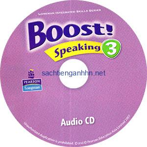 Boost! Speaking 3 Audio CD