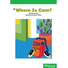 Harcourt School Publishers Kindergarten - Where Is Cam