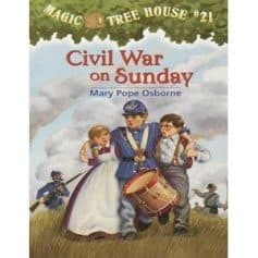 Mary Pope Osborne- Magic Tree House 21, Civil War on Sunday
