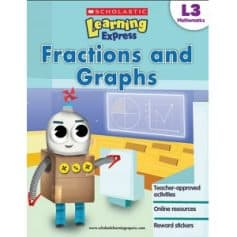 Mathematics Fractions and Graphs Level 3 Scholastic Learning Express