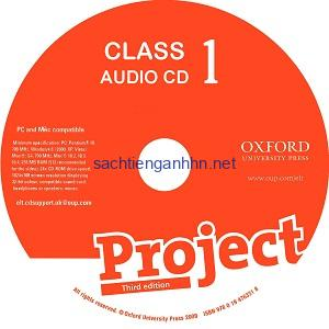 Project 1 3rd Edition Class Audio CD 1