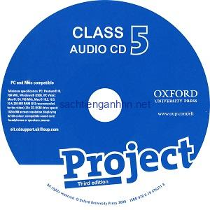 Project 5 3rd Edition Class Audio CD 3