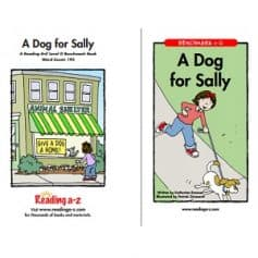 Reading A-Z Level G- A Dog for Sally
