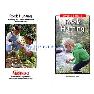 Reading A-Z Level G- Rock Hunting