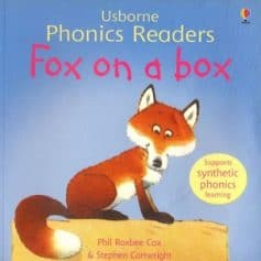 Usborne Phonics Readers - Fox on a box