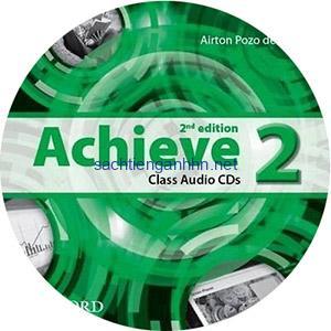 Achieve 2 2nd Edition Class Audio CD