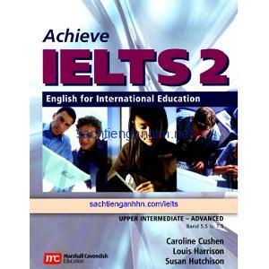 Achieve IELTS 2 Workbook Upper-Intermediate Advanced Band 5.5 – 7.5