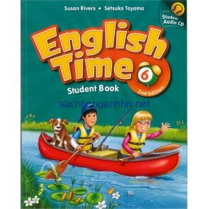 English Time 6 Student Book 2nd Edition