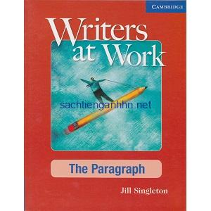 Writers at Work – The Paragraph