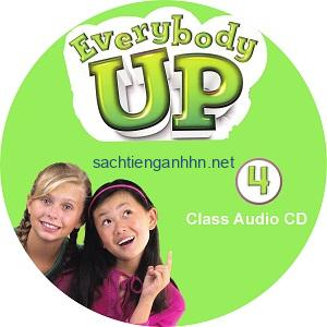 Everybody Up 4 Class Audio CD1
