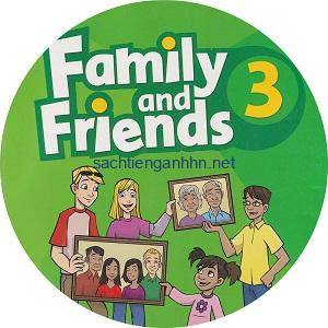 Family and Friends 3 Class Audio CD