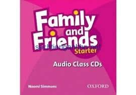 Family and Friends Starter Class Audio CD