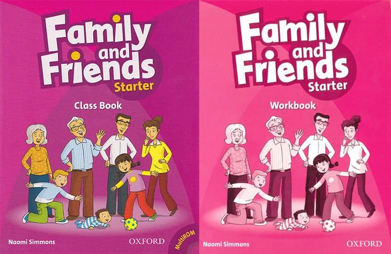Giáo trình, sách Family and Friends Starter