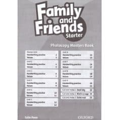 Family and Friends Starter Photocopy Masters Book
