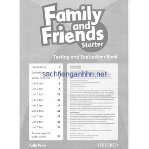 Family and Friends Starter Testing and Evaluation Book