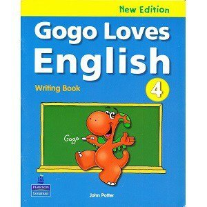 Gogo Loves English 4 Writing Book New Edition