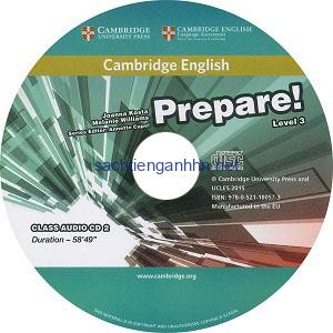 Prepare! 3 Workbook Audio CD
